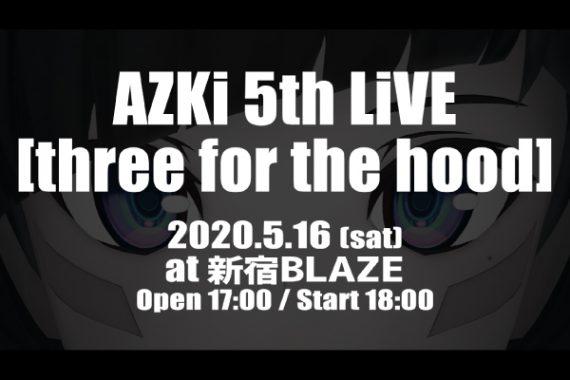 AZKi 5th LiVE [three for the hood]